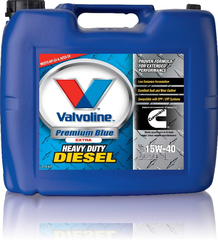 Mootoriõli PREMIUM BLUE EXTRA 15W40 20L, Valvoline