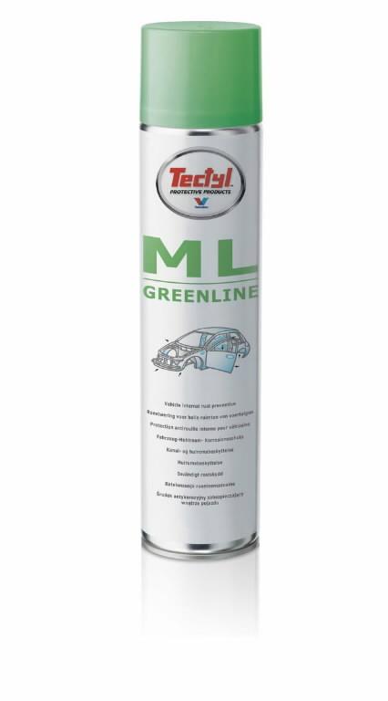Sisepindade kaitsevaha TECTYL ML Greenline 600ml + otsik, Tectyl