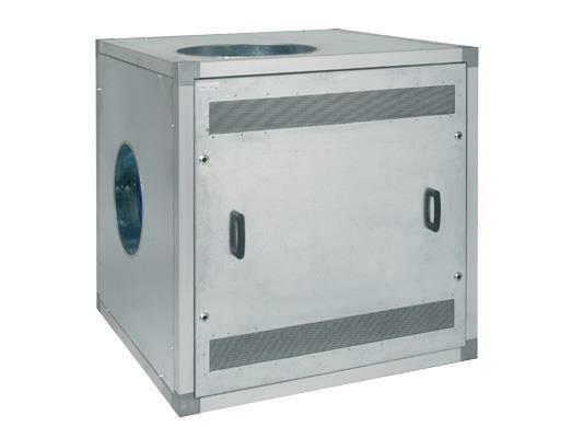 ventilaator 15kW, SF18000 mürasummutuskastiga (LI), Plymovent