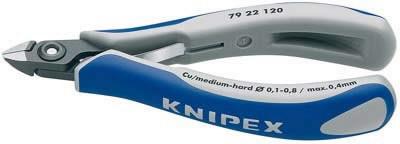 Žnyplės elektronikai 125mm ESD, Knipex