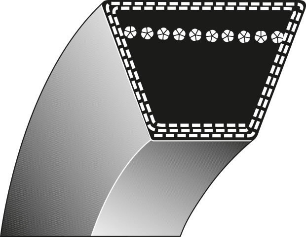 V Diržas 17x1351 1B, Ratioparts