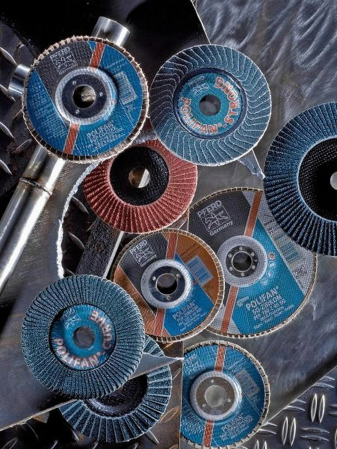 Vėduoklinis diskas 125mm ZA40 SG-INOX PFC, Pferd