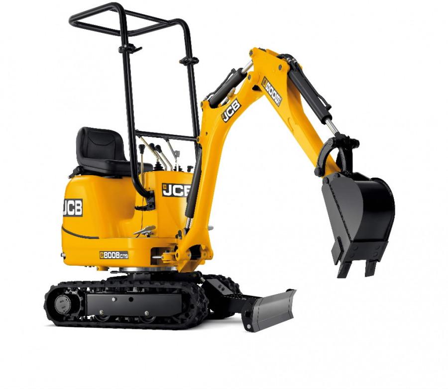 Mini excavator  8008 CTS, JCB
