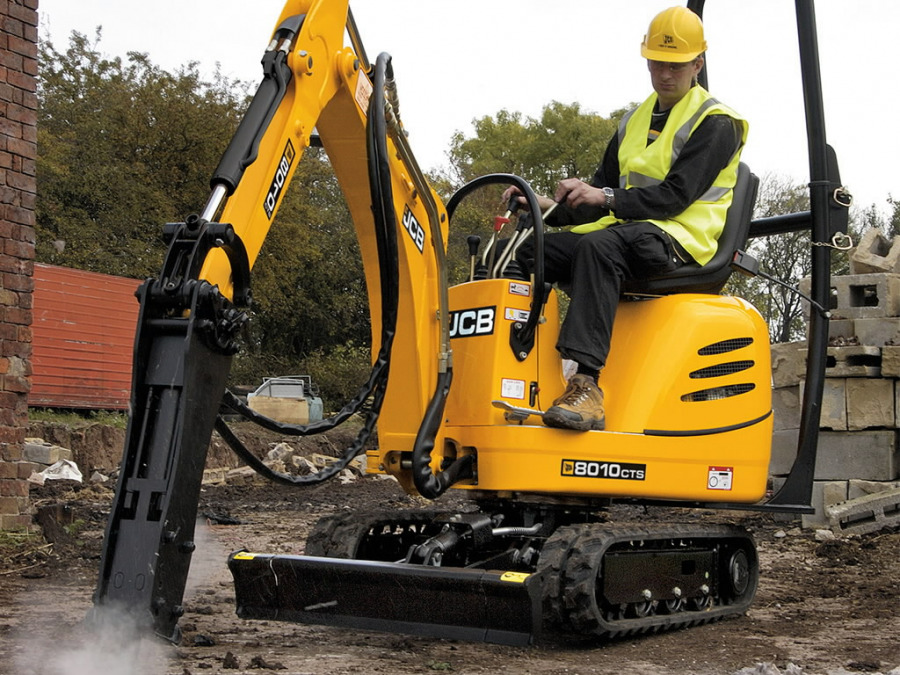 Mini ekskavators  8010, JCB