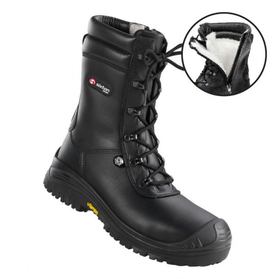 Žieminiai batai Terranova Atlantida, juoda,S3 HRO CI SRC, Sixton Peak