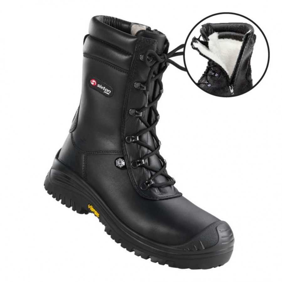 Žieminiai batai Terranova Atlantida, juoda,S3 HRO CI SRC 45, Sixton Peak