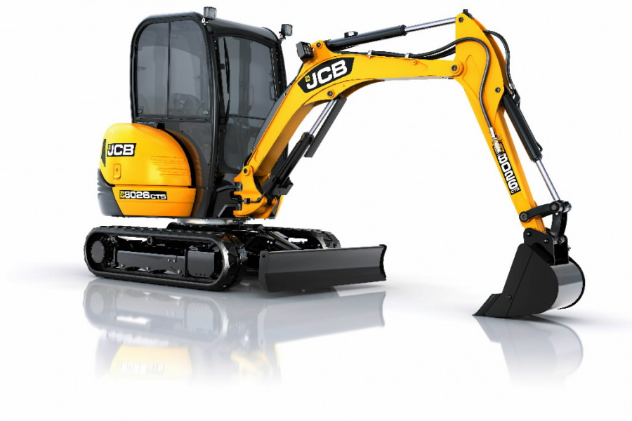Mini ekskavatorius  8026, JCB