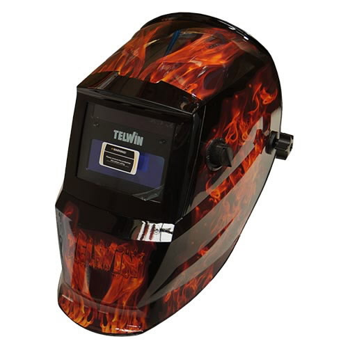 welding helmet STREAM FLAME automatic DIN 4/9-13, Telwin