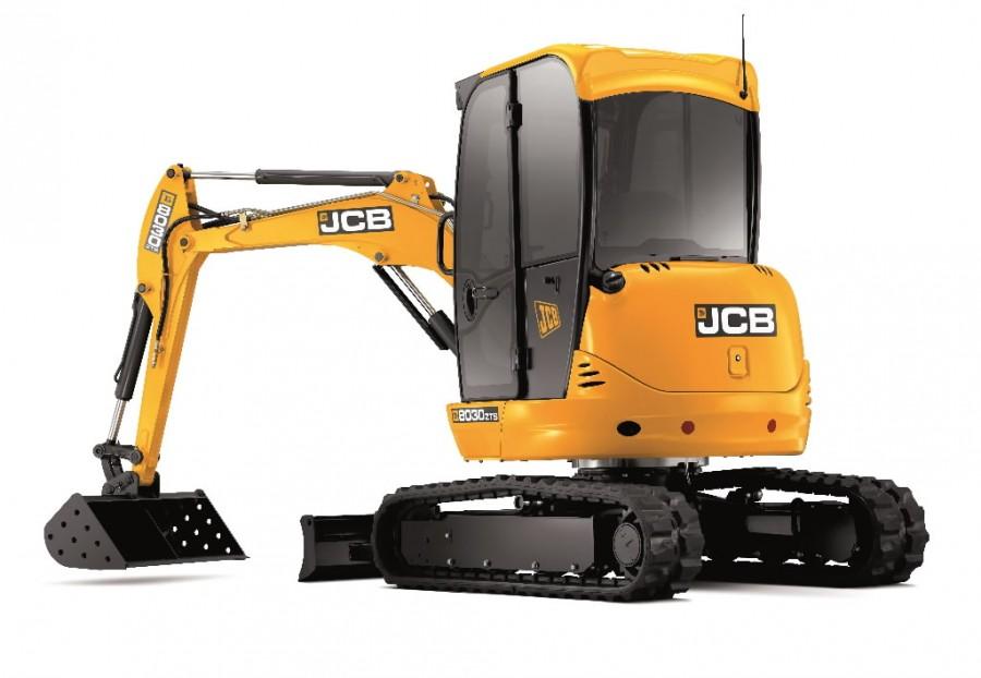 Mini ekskavatorius JCB 8030 ZTS