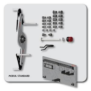 Mootorratta adapter ProBike II Modular System STANDARD, Haweka