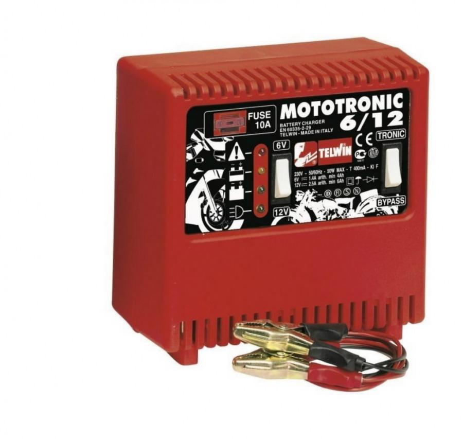 Akulaadija Mototronic 6-12V, Telwin
