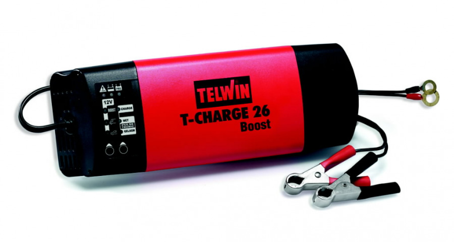 """12V intelligentne akulaadija T-Charge 26, Telwin"