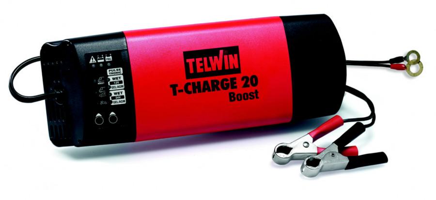 12-24V intelligentne (automaatne) akulaadija T-Charge 20, Telwin