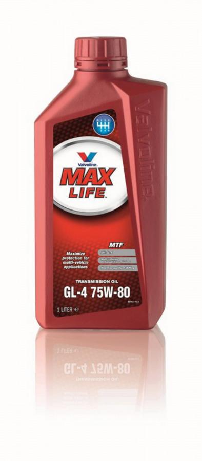 Transmisijos alyva MAXLIFE MTF GL-4 75W80 1L, Valvoline