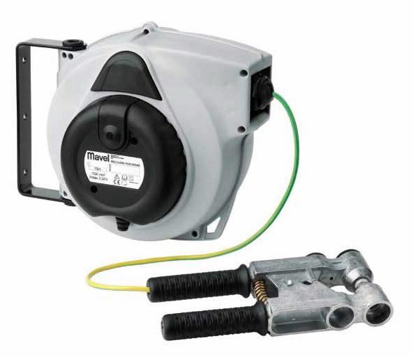 Automatinė ritė su kabeliu 15m, pakabinama,  6 mm2, Serviso įrenginiai