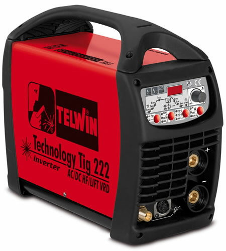 TIG keevitusseade Technology TIG 222 AC/DC HF/LIFT, Telwin