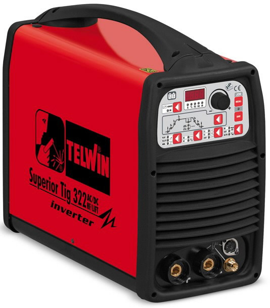 TIG-keevitusseade Superior TIG 322 AC/DC-HF/LIFT 400V 3ph, Telwin