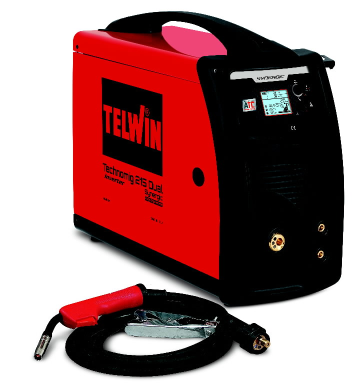 kaasaskantav poolautomaat Technomig 215 Dual Synergic, Telwin