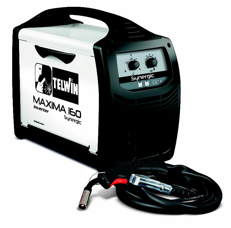 Metināšanas pusautomāts MAXIMA 160 Synergic, Telwin