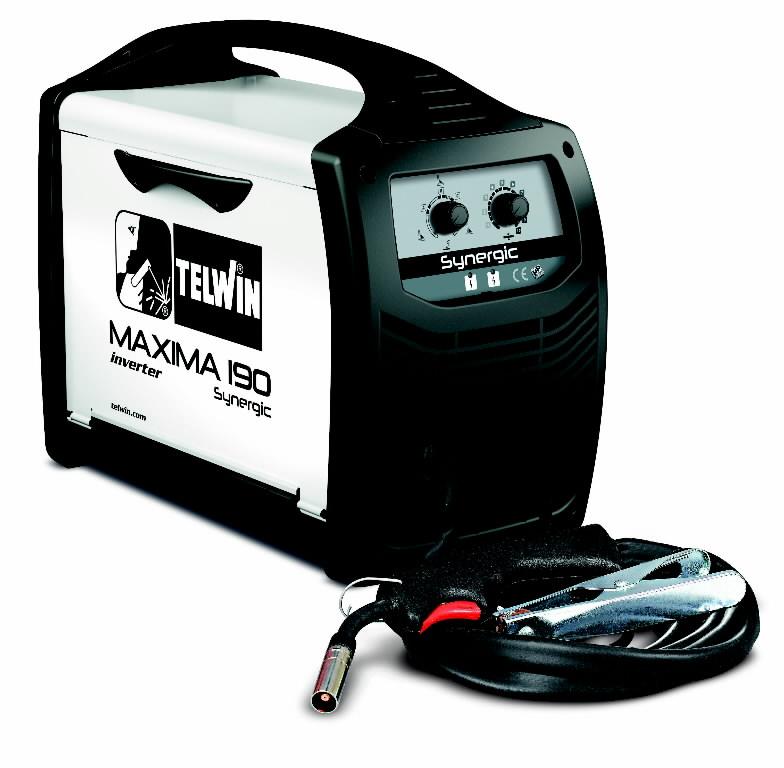 Metināšanas pusautomāts MAXIMA 190 Synergic, Telwin