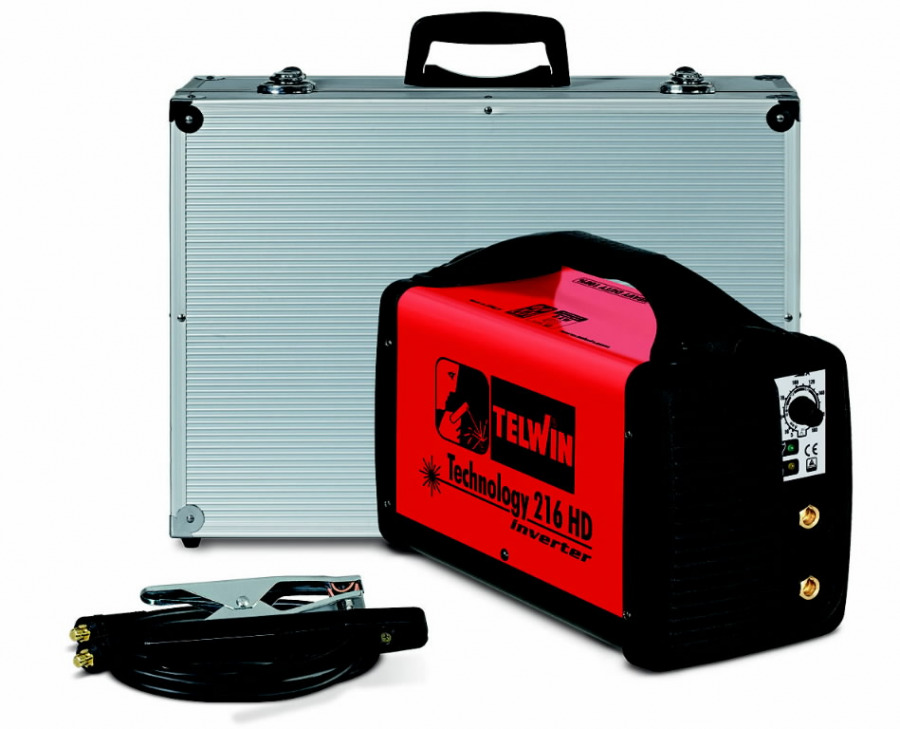 Inverter Technology 216 HD+ acc. in alum.carry case, 230V, Telwin
