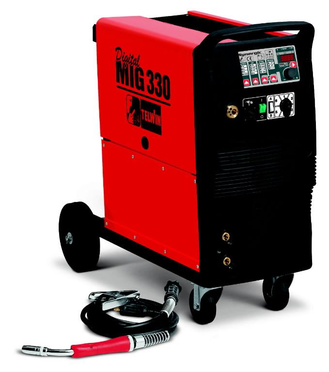 poolautomaat Digital MIG 330 300A=25 pr, Telwin