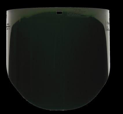 Visor glass DIN 5 for H8A headband PELTOR, 3M