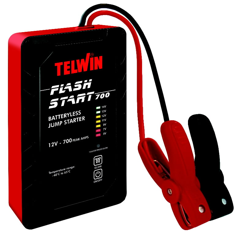 Käivitusabi Flash Start 700 12V (superkondensaatoritega), TELWIN