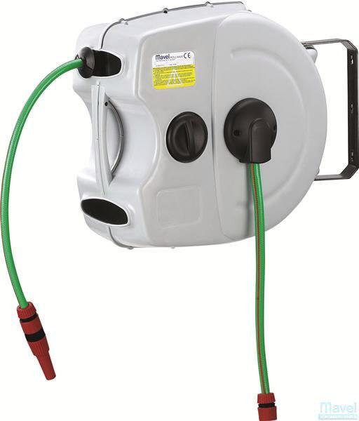 "Water hose 30m, wall mounted aut. reel, 1/2"", Serviso įrenginiai"