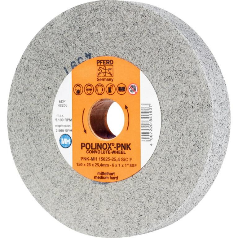 Poliravimo diskelis  150x25/25,4mm SIC F PNK-MH, Pferd