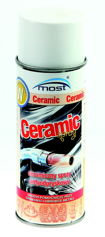 Pritsmevastane kate keevitusseadmetele  CERAMIC 400ml, MOST