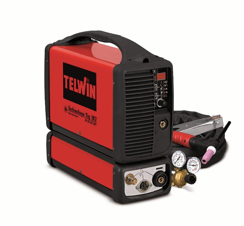 TIG aparata Technology TIG 182 AC/DC-HF/LIFT+TIG priedai, Telwin