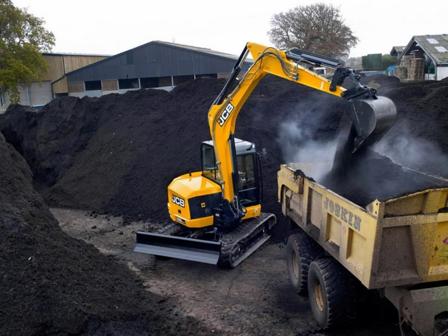 Mini excavator  86C-I, JCB