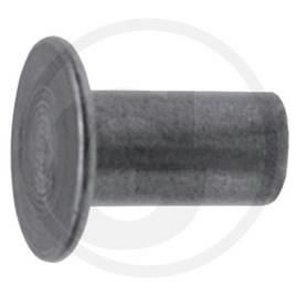 Rivets, brake lining, 100pcs, Granit