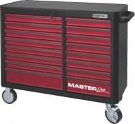 tööriistakäru 16 sahtlit punane MASTER, KS Tools