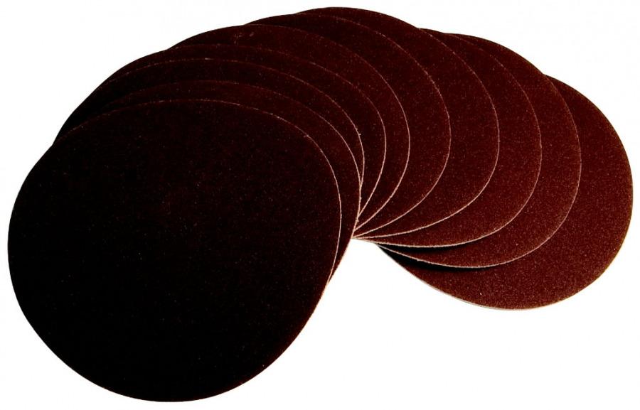 Šlifavimo diskas 150mm, G120, 10 vnt. BTS 800, Scheppach
