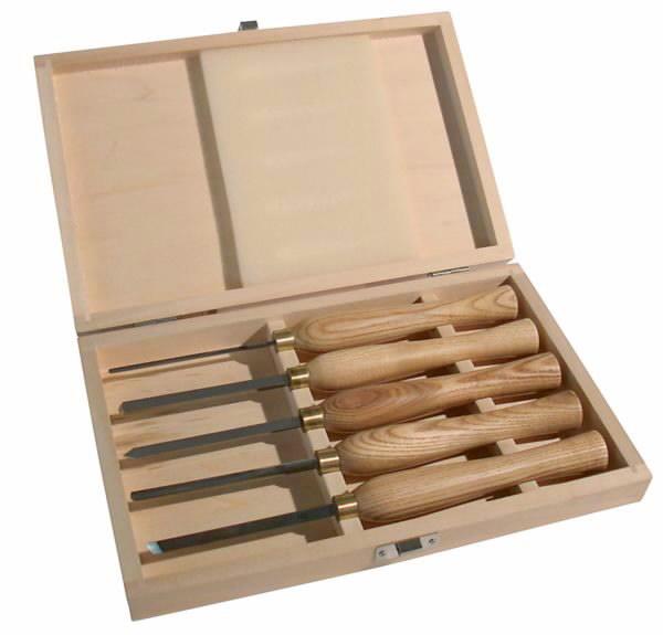 Rinkinis įrankių 5 vnt, 250 mm. DM 460, Scheppach