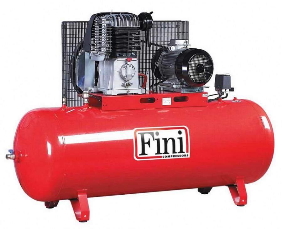 Kompresorius BK Advanced, su diržine pavara, 400V 7,5KW 500L, Fini