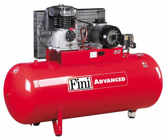 Kompresorius MK Advanced, su diržine pavara, 400V 4KW 270L, Fini