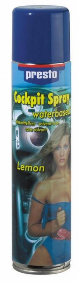salongipuhastusvahend COCKPIT SPRAY veebaasiline Lemon 300ml, Presto