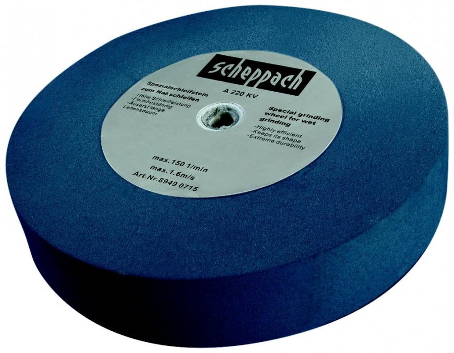 Galadinimo diskas 200x40x12 mm, K220. Wet grind / BG 200W, Scheppach