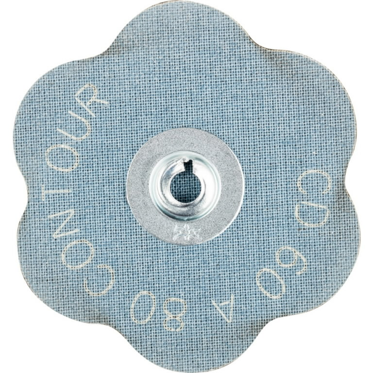 Abrazyvinis diskas 60mm A 80 CONTOUR CD ROLOC, Pferd