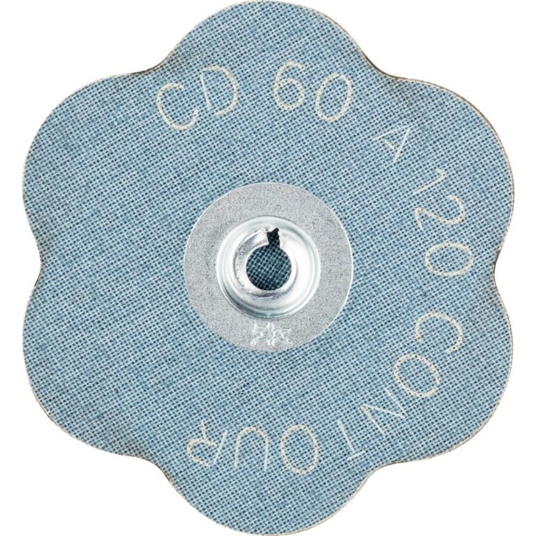 Abrazyvinis diskas 60mm A 120 CONTOUR CD ROLOC, Pferd
