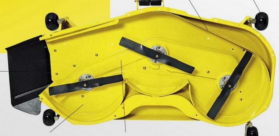 Niiduseade 137cm, murutraktorile   x500, John Deere