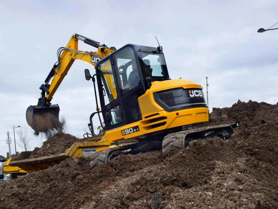 Mini excavator  90Z-I, JCB