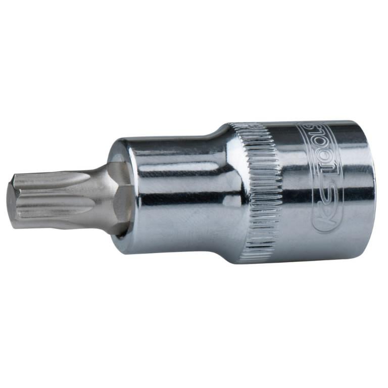 Antgalis galvutė 1/2´´ TX-T20 CHROME+, KS tools