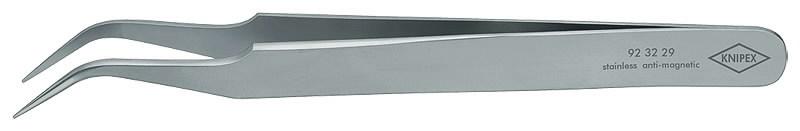Pincetas nikeliuotas, lenktas,  120mm 45°, Knipex