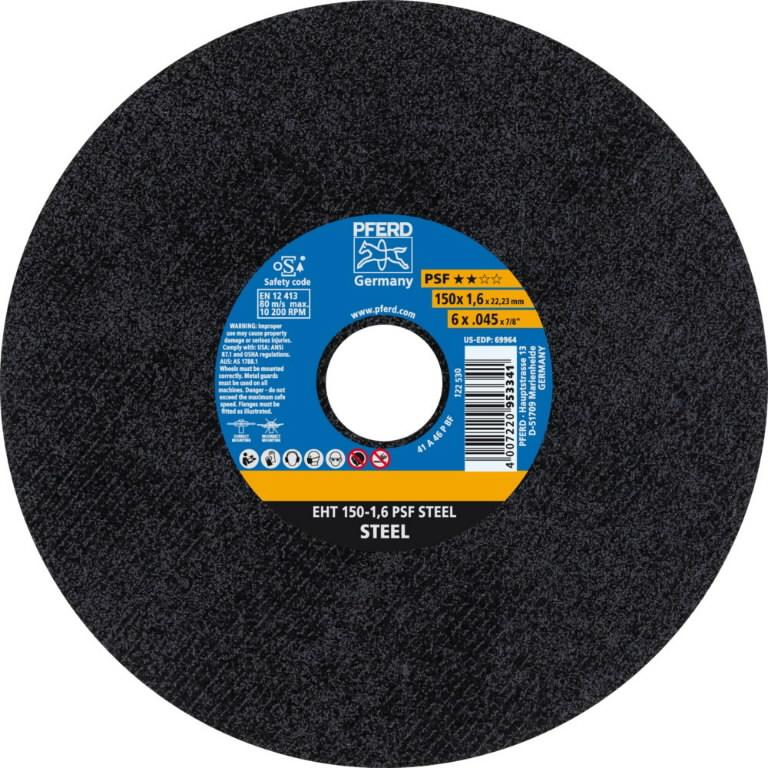 Pjovimo diskas 150x1,6mm A46 P PSF EHT, Pferd