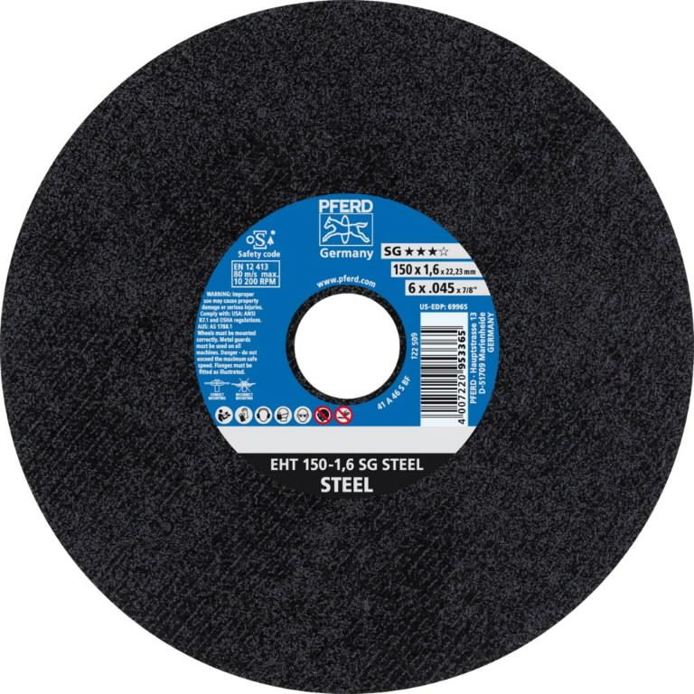 Pjov.disk.metalui 150x1,6mm A46 S SG EHT, Pferd