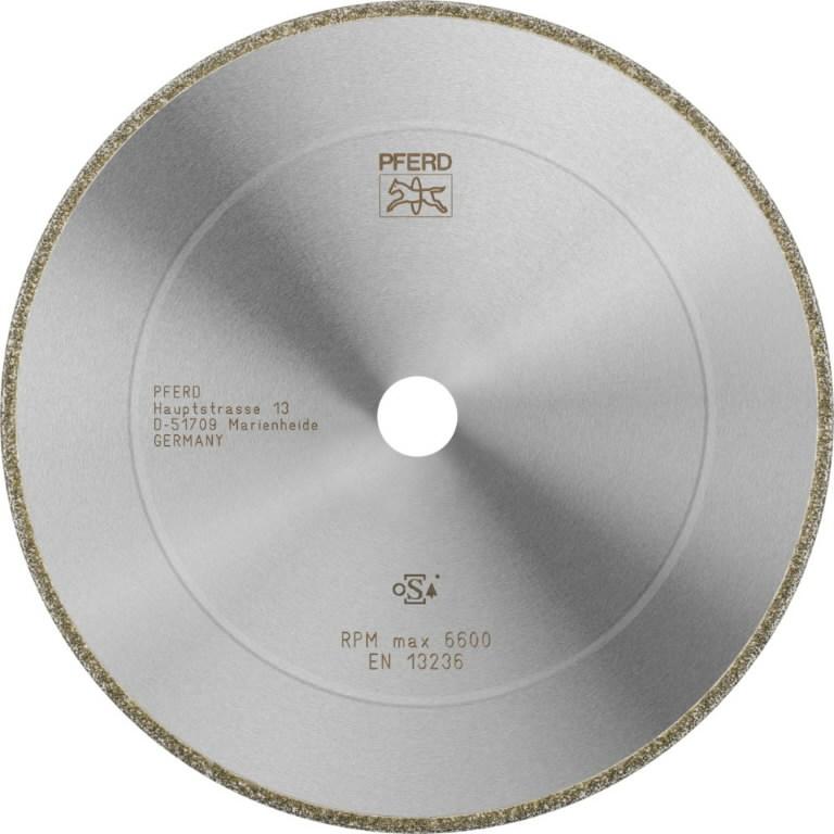 Deimantinis diskas 230x3,8x22,23mm D852 GA D1A1R, Pferd